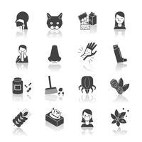 allergie pictogram zwart