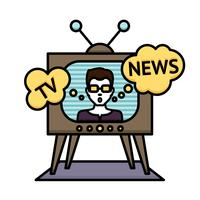 Tv News Poster