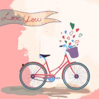 Bicycle loves you