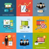 Conjunto de conceito de negócio