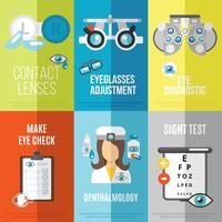 Oculist mini poster set