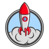 Démarrage de l'emblème de la fusée
