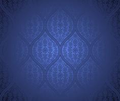 Fundo de padrão marroquino sem costura