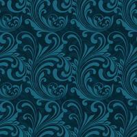 Dark blue ornamental seamless