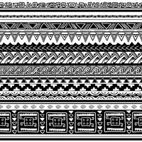 textura tribal vector