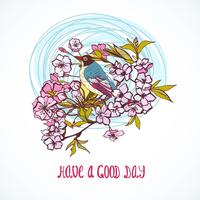 Good day wishing card