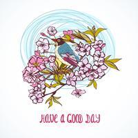 Goede dag wenskaart