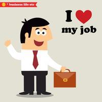 ich liebe meinen Job