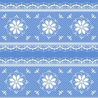 Floral lace pattern for design