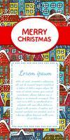 Weihnachtseinladungskarte
