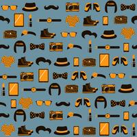 Hipster naadloze patroon