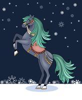 cavalo empinado