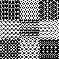 Conjunto de patrones de píxeles sin fisuras