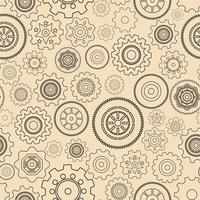Seamless gear wheels pattern