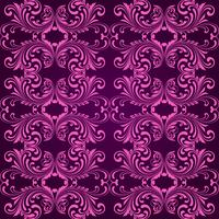 Vertical purple ornamental background vector