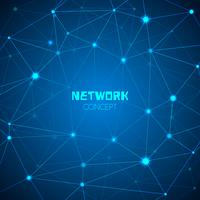 Abstract technology network concept