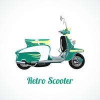 Riding scooter symbol