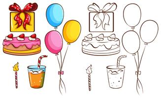 Eine Geburtstagsfeier