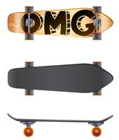 En skateboard