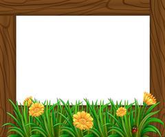 Houten frame
