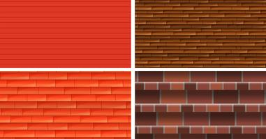 Four different texture backgrounds