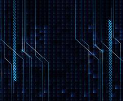 Design de fond avec thème bleu et noir