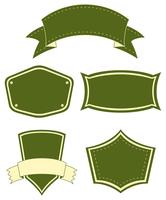 etiquetas vector