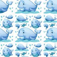 Naadloze walvis