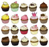 Cupcakes vektor