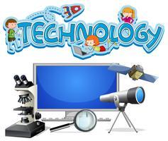 A Set of Technology Equipments