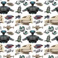 Design diverso senza soluzione di continuità della nave spaziale