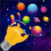 planetas espaciales