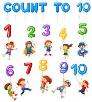 Mathematics Card Couting Number Chapter