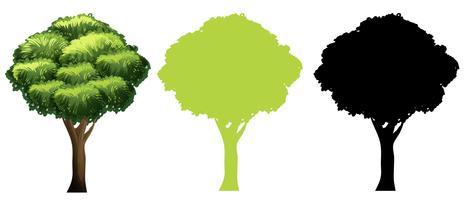 Conjunto de diseño de árbol diferente