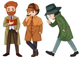 Set of detective character vector
