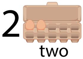 Twee eieren in kleuterschool, school,