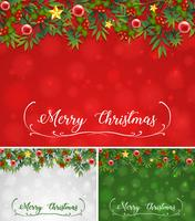 Background template with christmas theme