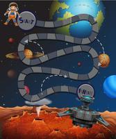 A space maze game