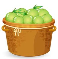A basket of lime