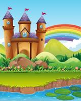 Château tours de l'étang
