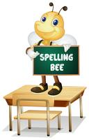 Spelling bee vector
