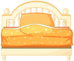 A king sized bed