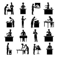 Cooking Icons Black