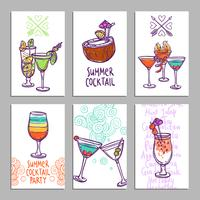 Cards With Cocktails