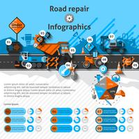 Road Repair Infographics