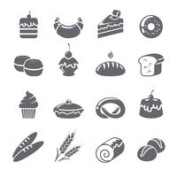 Baking Icons Black