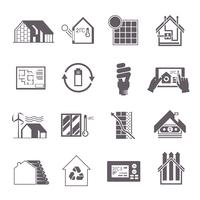 Energy Saving House Icon