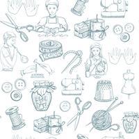Handmade Seamless Pattern