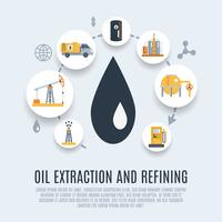 Oil Industry Flat Icon