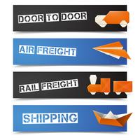 Origami Logistic Banners